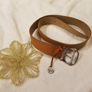 Michael Kors Genuine Leather Belt Size Medium EUC